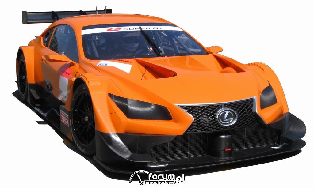 Nowy bolid Lexusa na bazie koncepcyjnego Lexusa LF-CC