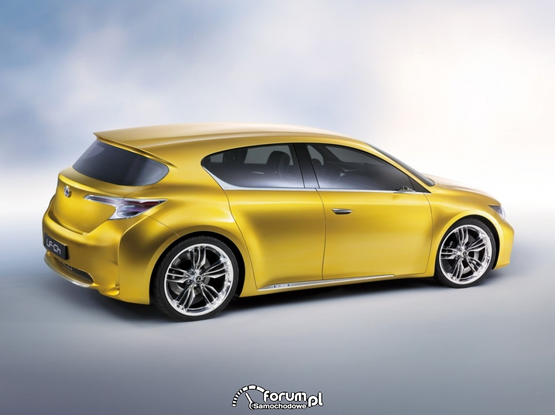 Lexus LF-CH, bok