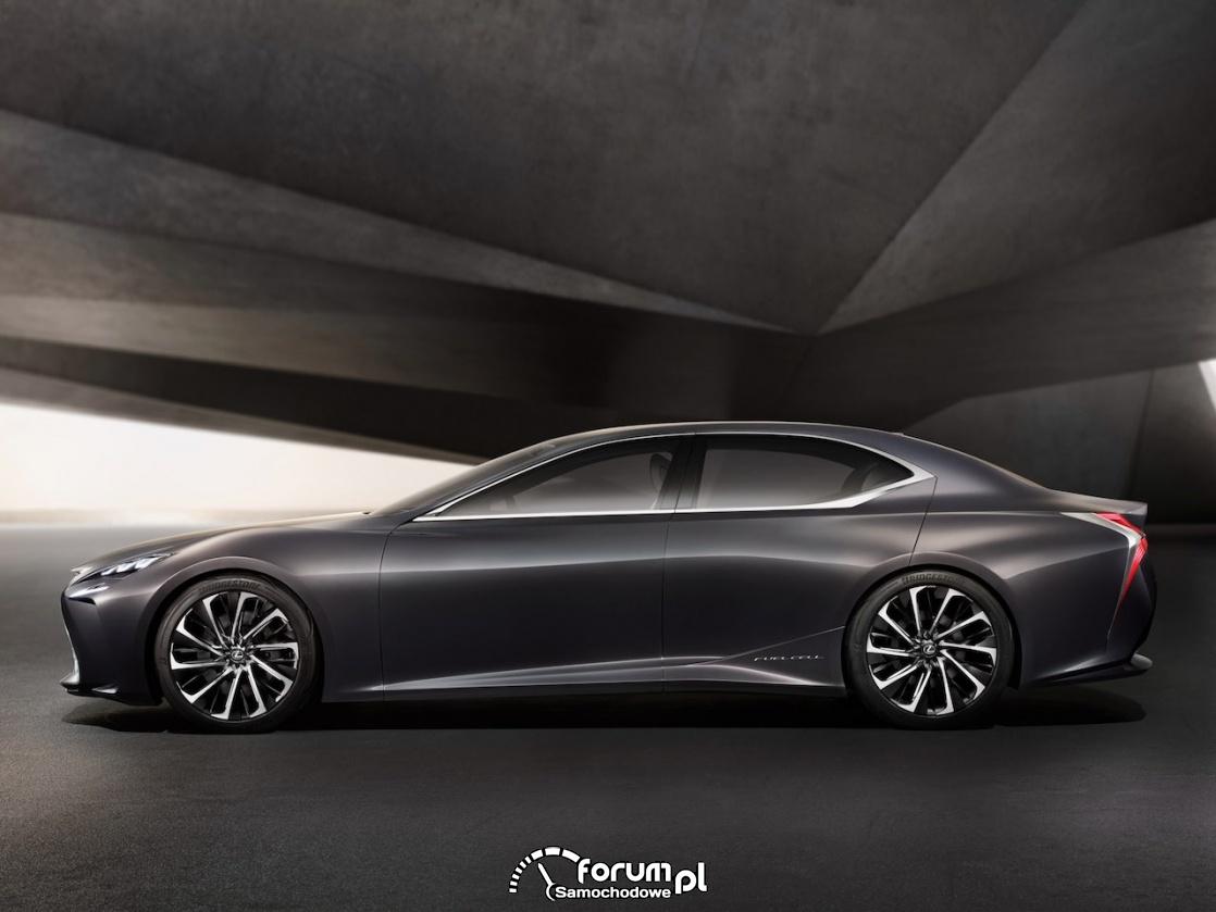 Lexus LF-FC concept, bok