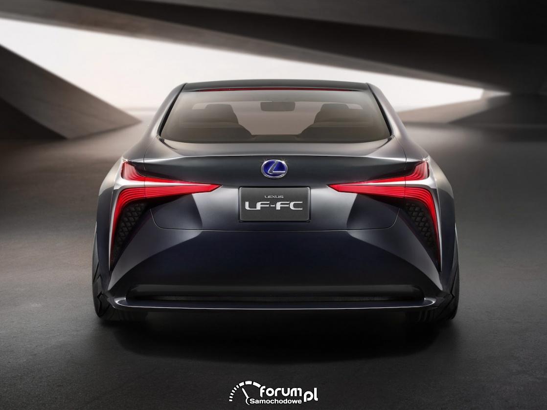 Lexus LF-FC concept, tył