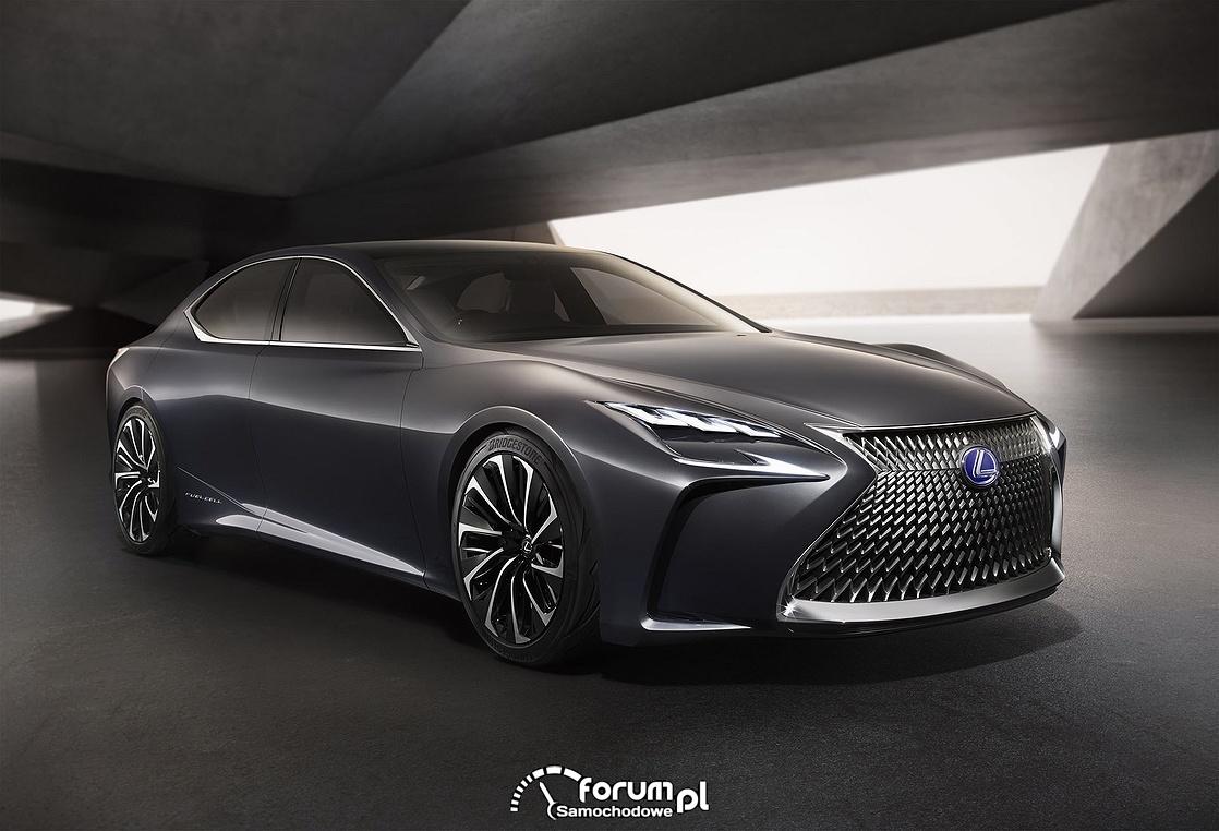 Lexus LF-FC z napędem wodorowym, przód