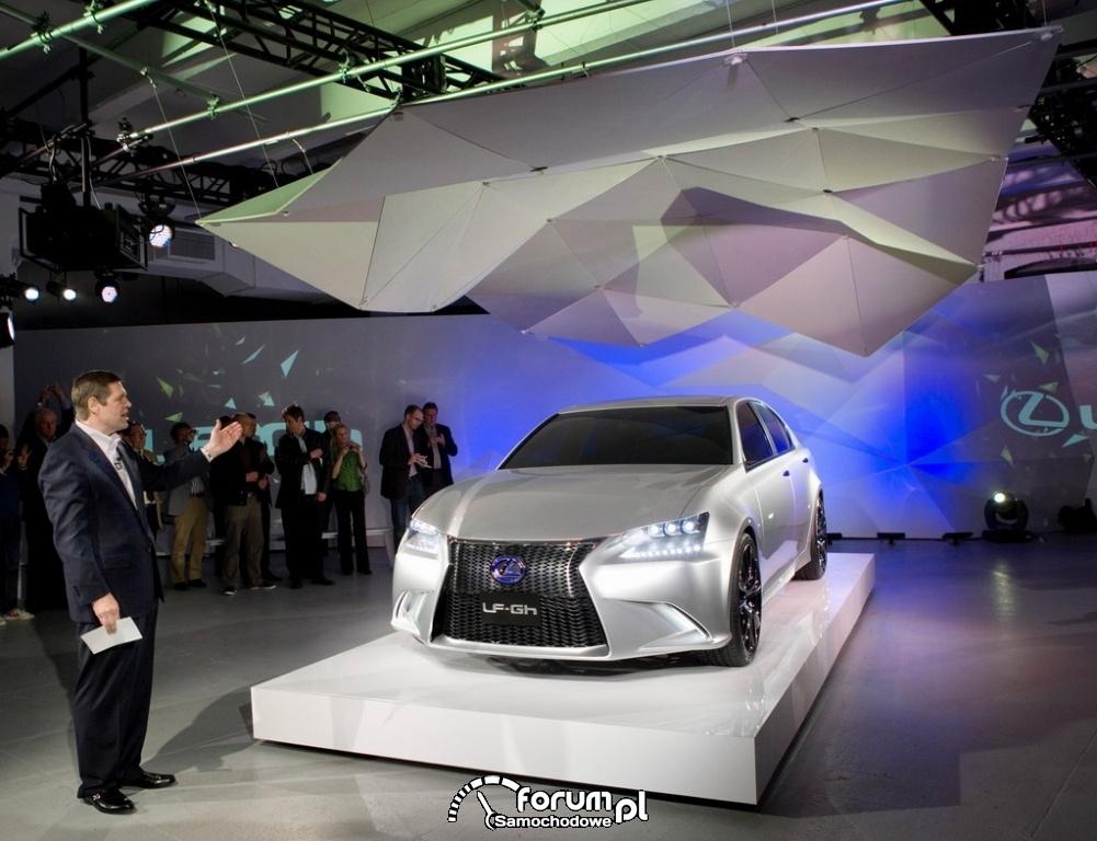 Lexus LF-Gh Hybrid