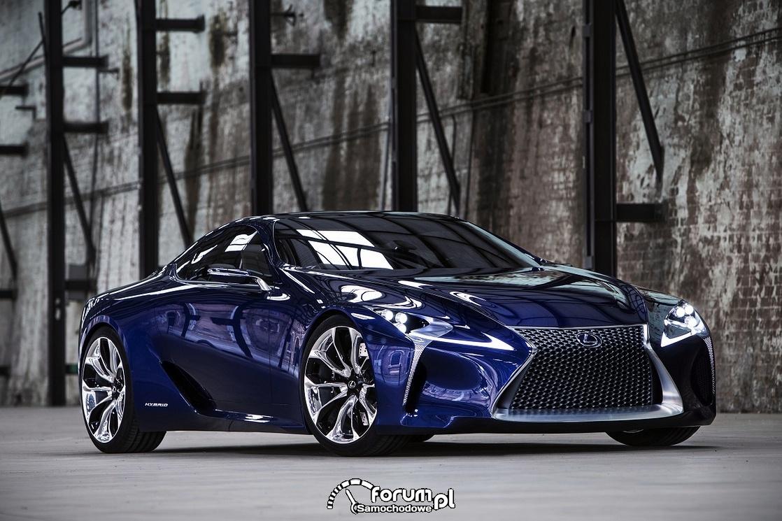 Lexus LF-LC Blue, 2012 rok, model koncepcyjny, 2