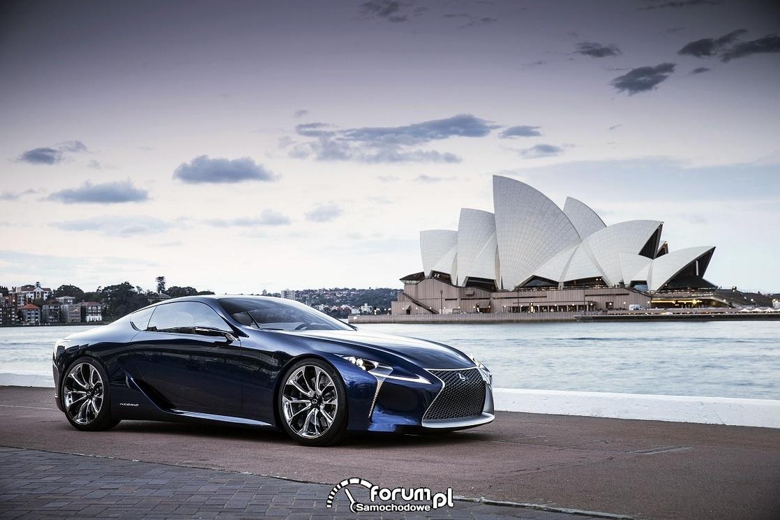 Lexus LF-LC Blue, 2012 rok, model koncepcyjny, 3