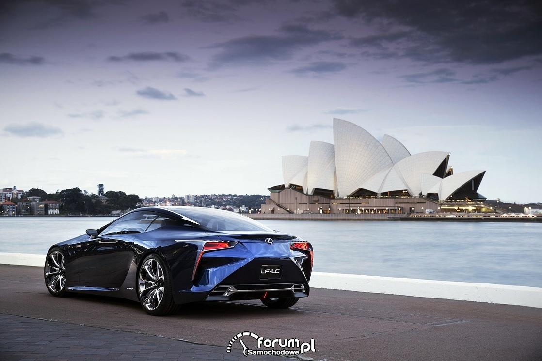 Lexus LF-LC Blue, 2012 rok, model koncepcyjny, 4
