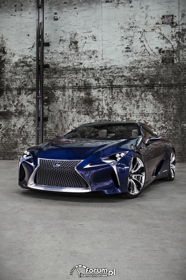 Lexus LF-LC Blue, 2012 rok, model koncepcyjny, 5