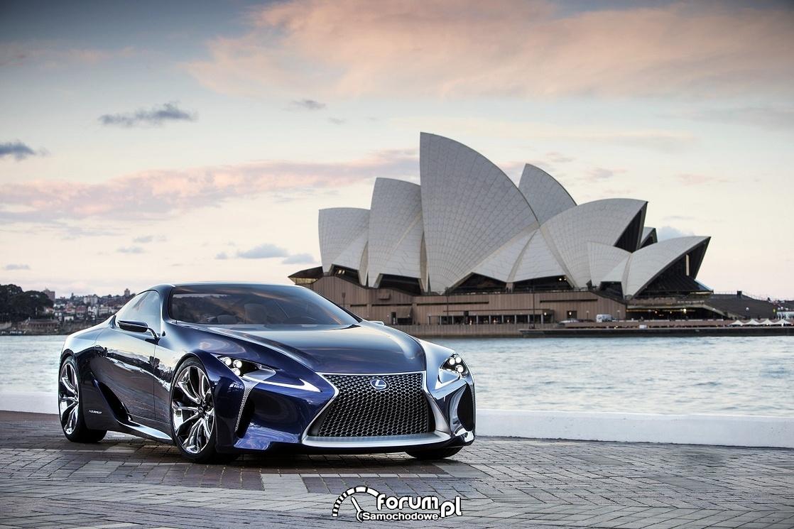 Lexus LF-LC Blue, 2012 rok, model koncepcyjny