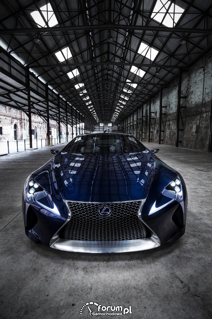 Lexus LF-LC Blue, 2012 rok, model koncepcyjny, przód