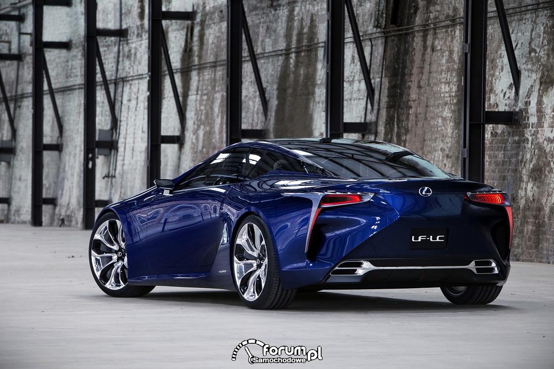 Lexus LF-LC - czy tak będzie wyglądało sportowe coupe?