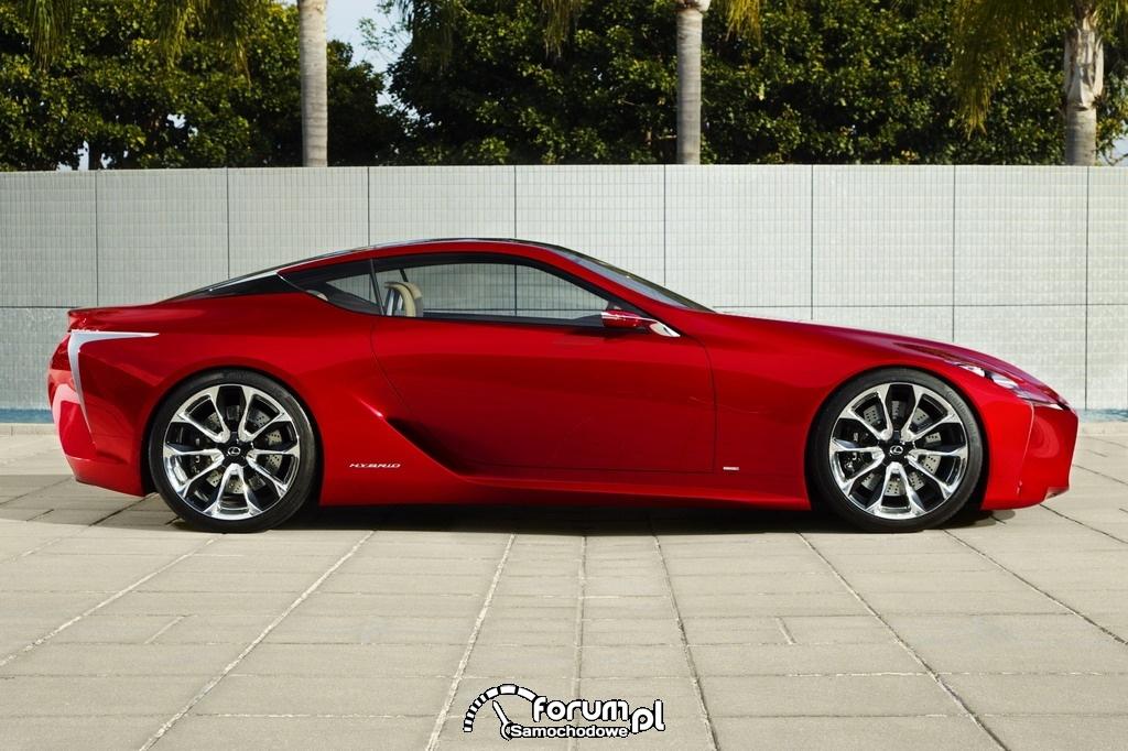 Lexus LF-LC widok z boku