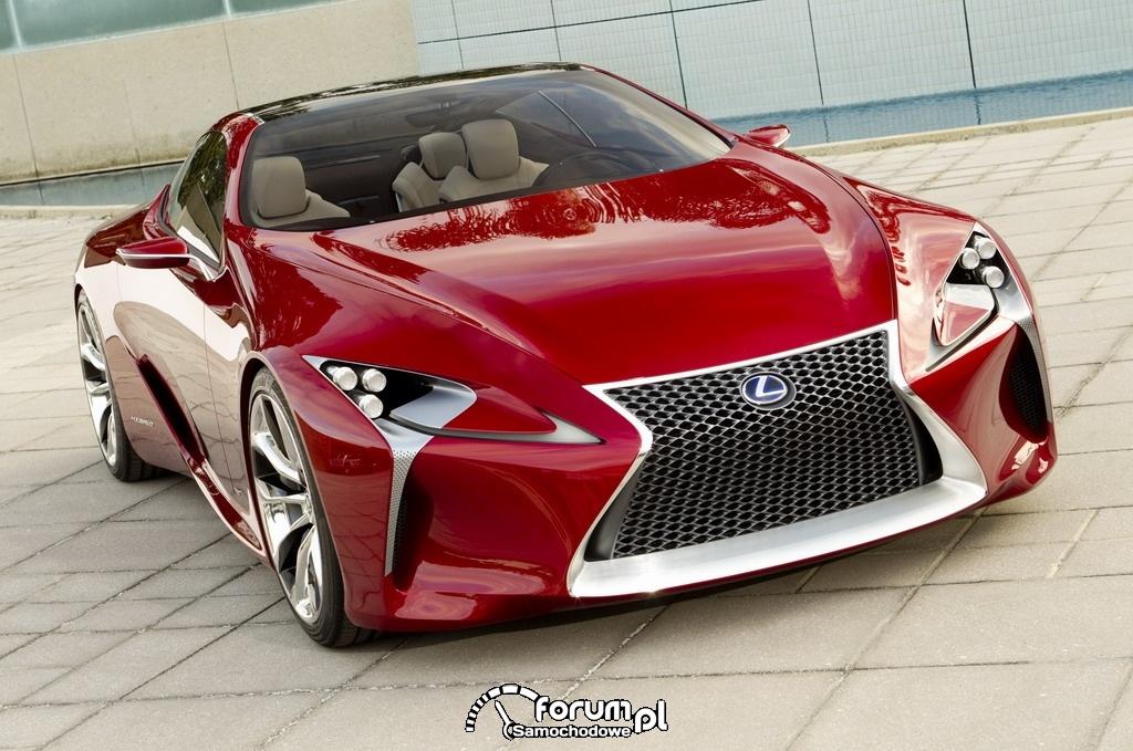 Lexus LF-LC widok z przodu