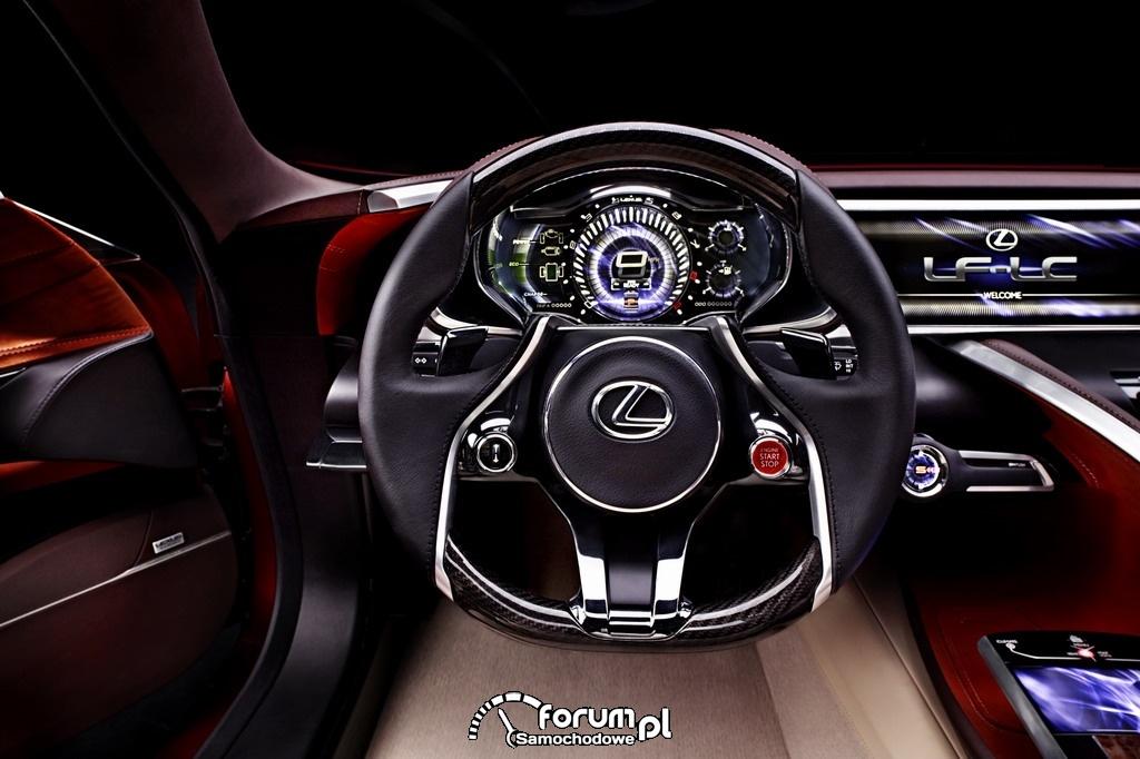 Lexus LF-LC wnętrze 10