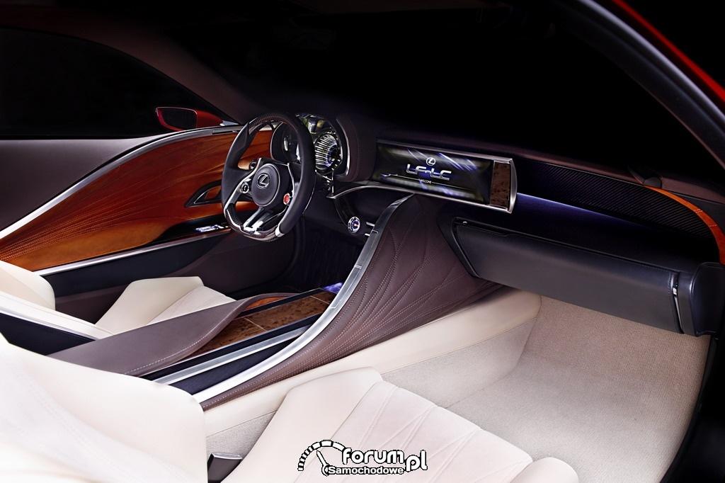 Lexus LF-LC wnętrze 7