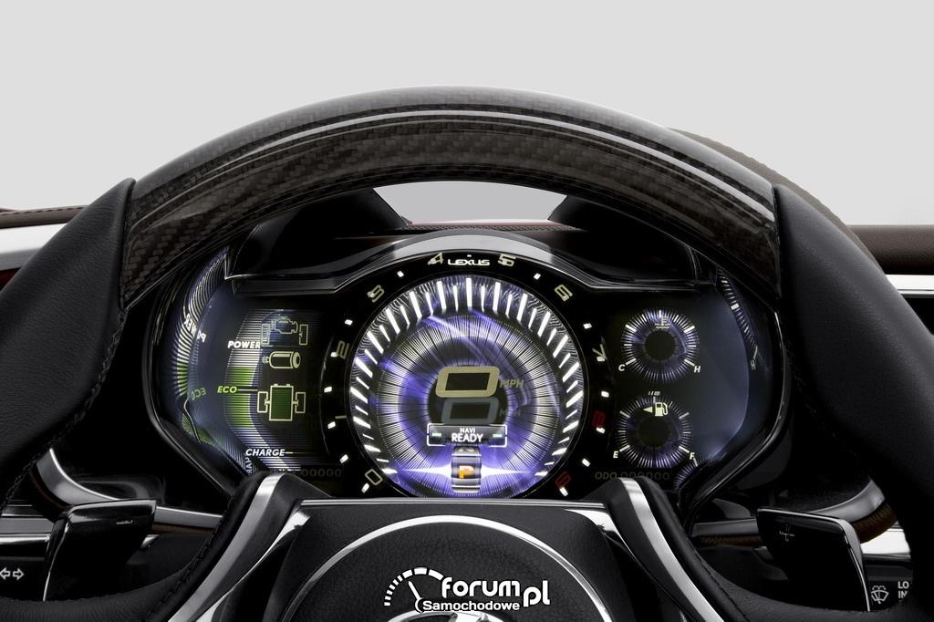 Lexus LF-LC wnętrze 9