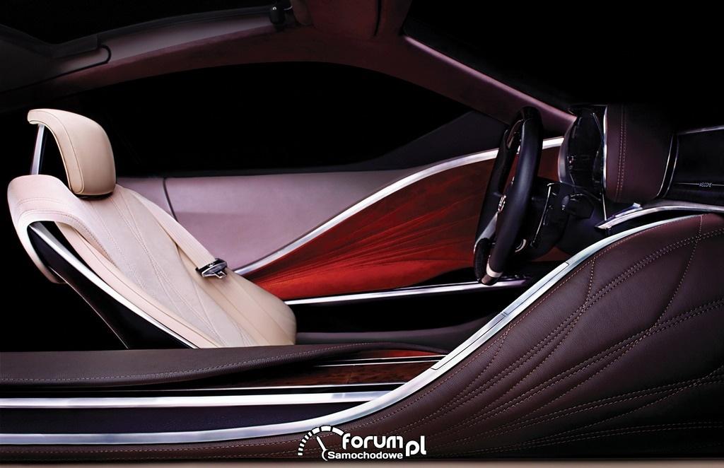 Lexus LF-LC wnętrze
