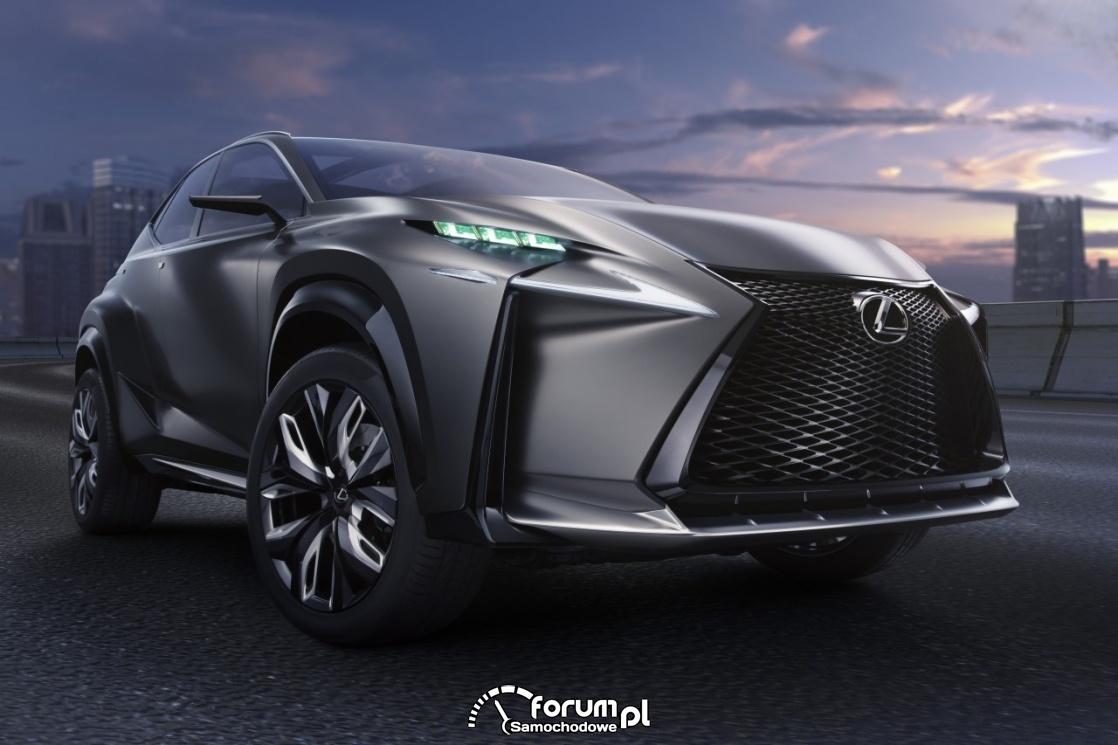 Lexus LF-NX, przód