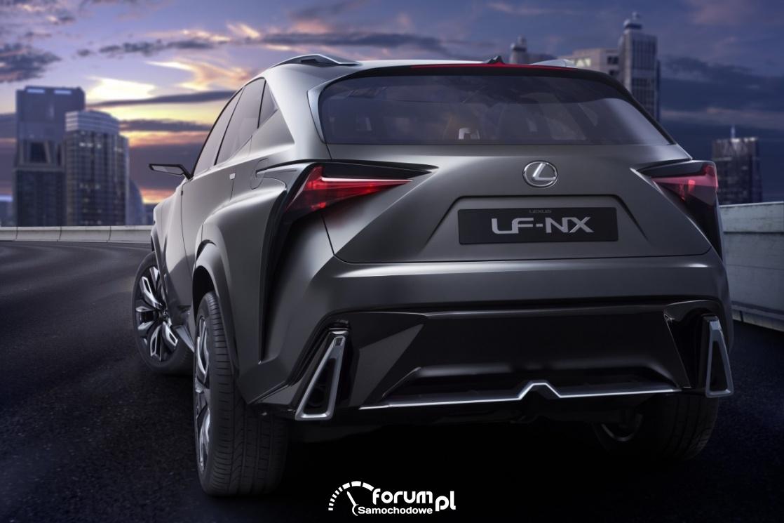 Lexus LF-NX, tył