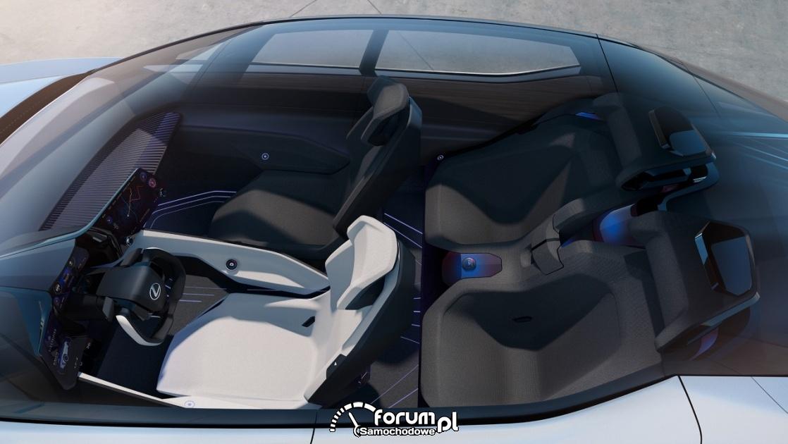 Lexus LF-Z Electrified, całe wnętrze