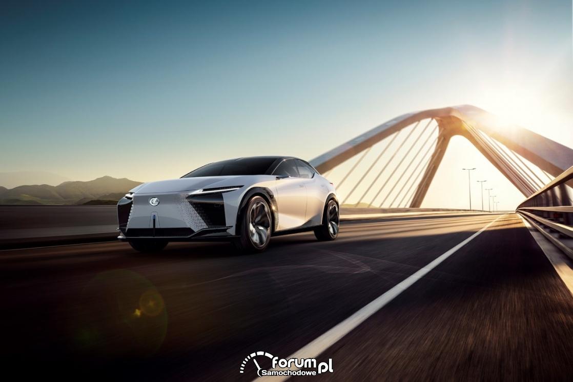 Lexus LF-Z Electrified - najważniejsze cechy elektrycznego konceptu