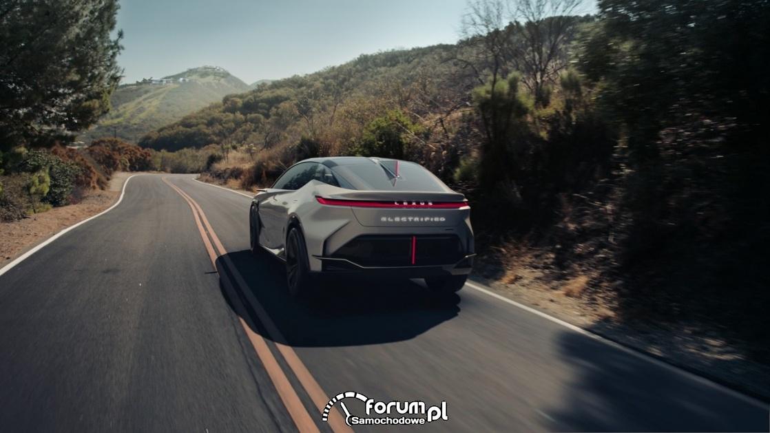 Lexus LF-Z Electrified, tył