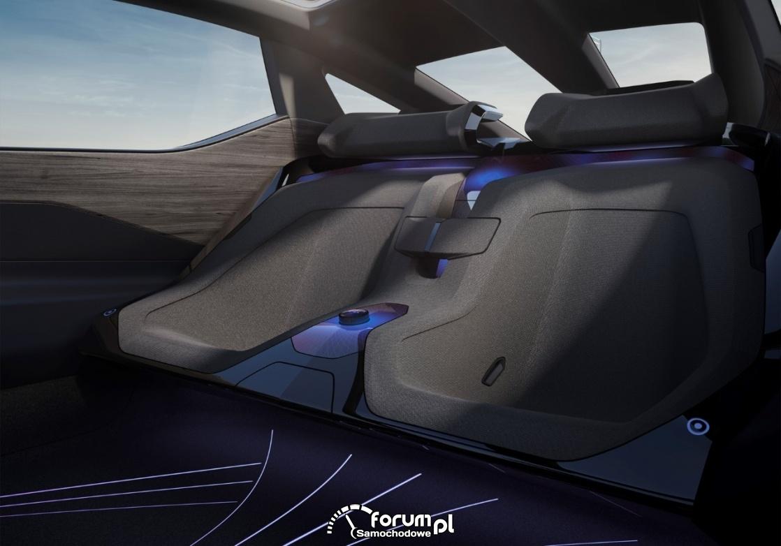 Lexus LF-Z Electrified, tylne siedzenia