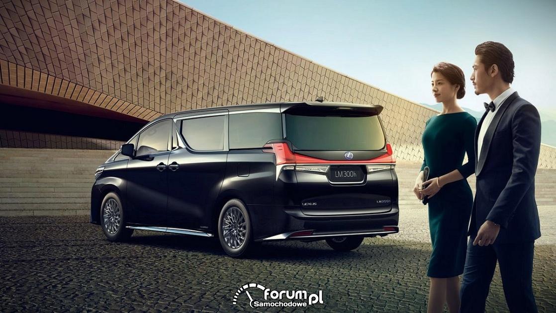 Lexus LM, minivan, tył
