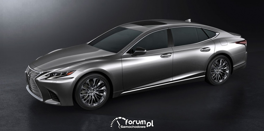 Lexus LS 500 XF50, bok