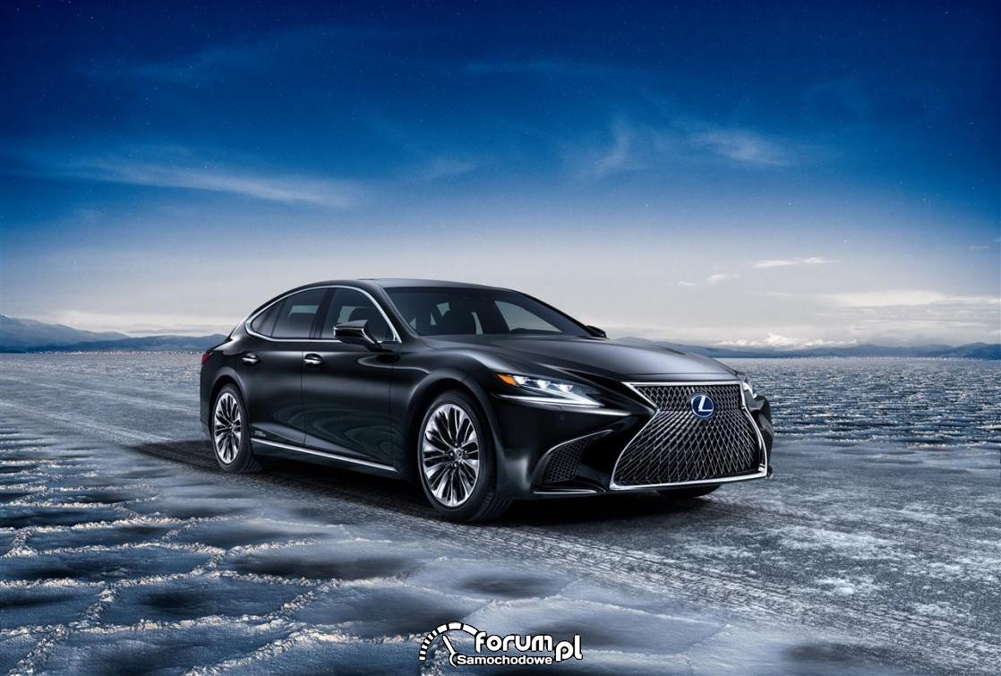 Lexus LS 500h, 2018 rok