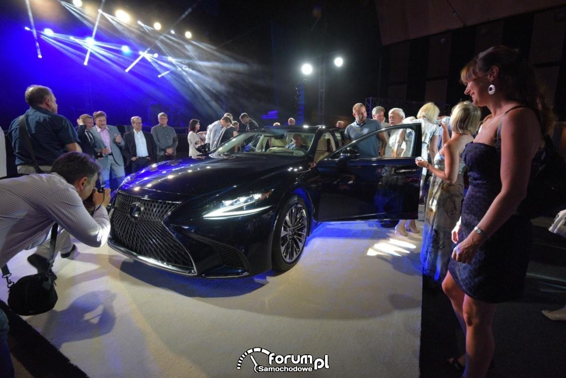Lexus LS 500h, polska premiera