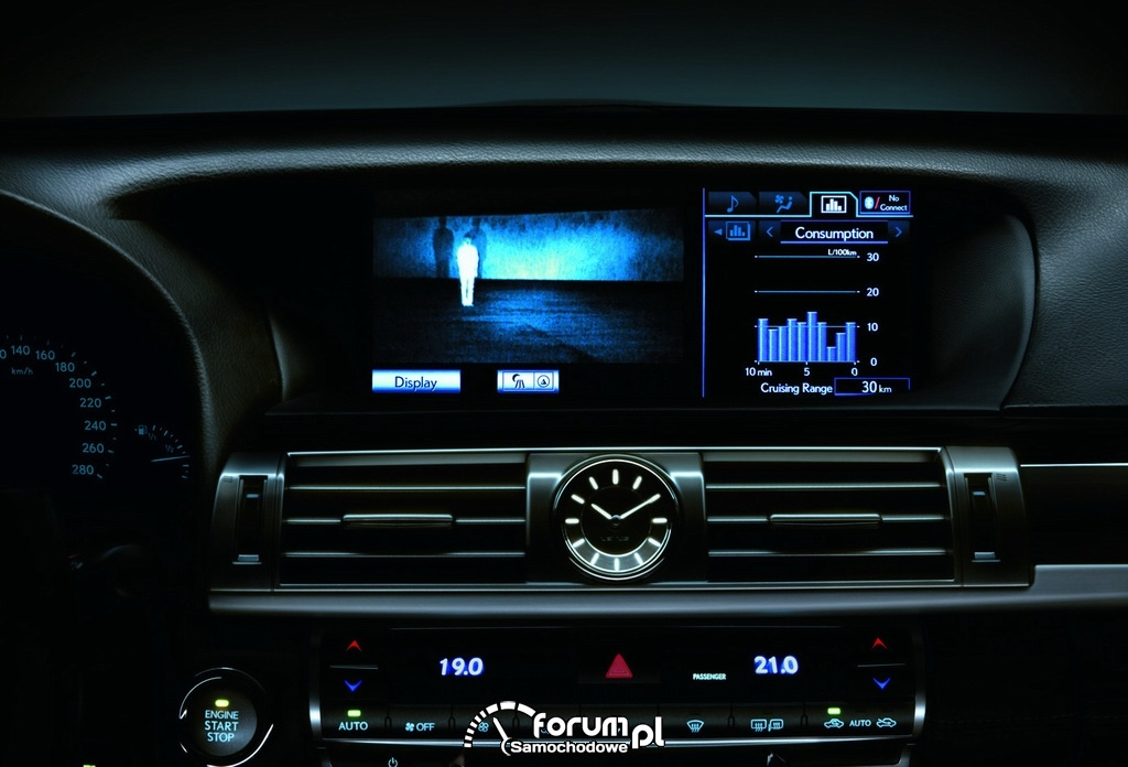 Lexus LS 600 NightView Display