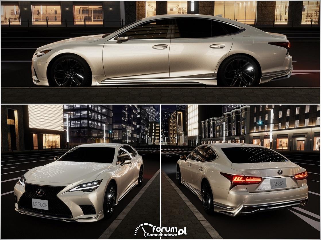 Nowy Lexus LS po tuningu według Japońskich Tunerów