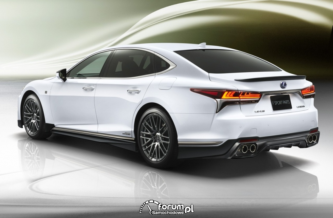 Lexus LS TRD, 2