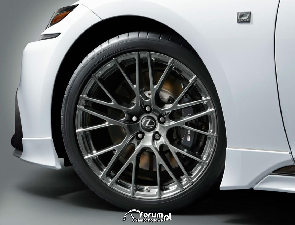 Lexus LS TRD, alufelgi