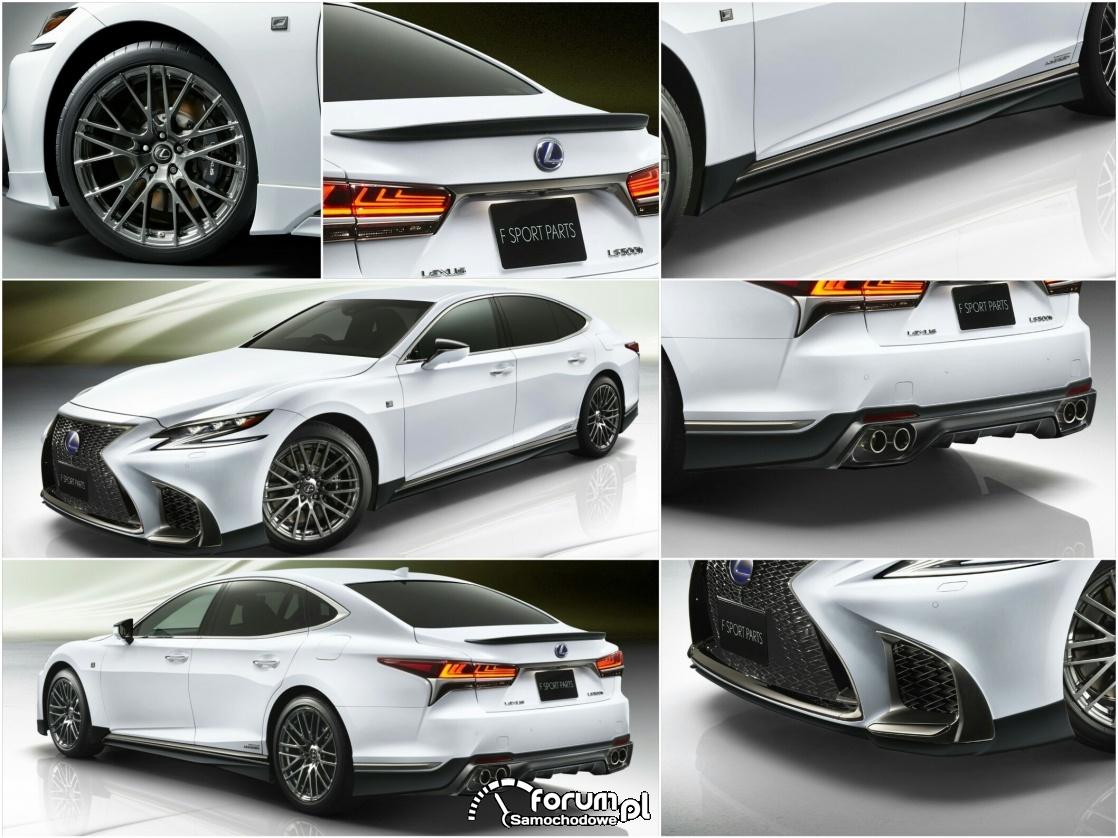 Pakiet tuningowy TRD dla nowego Lexusa LS