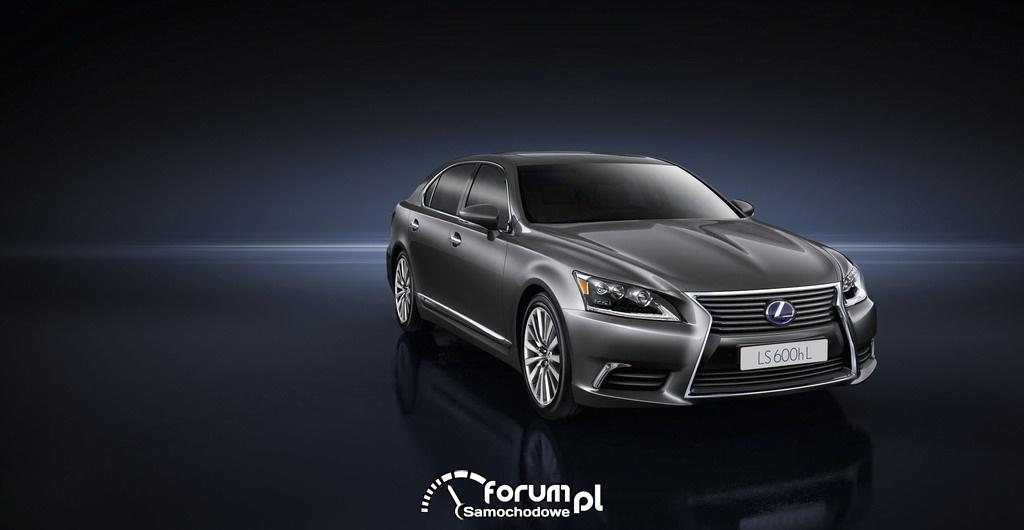 Lexus LS600hL, przód
