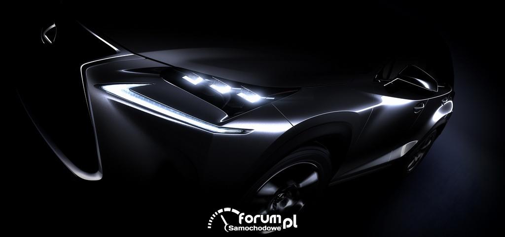 Lexus NX - nowy kompaktowy SUV