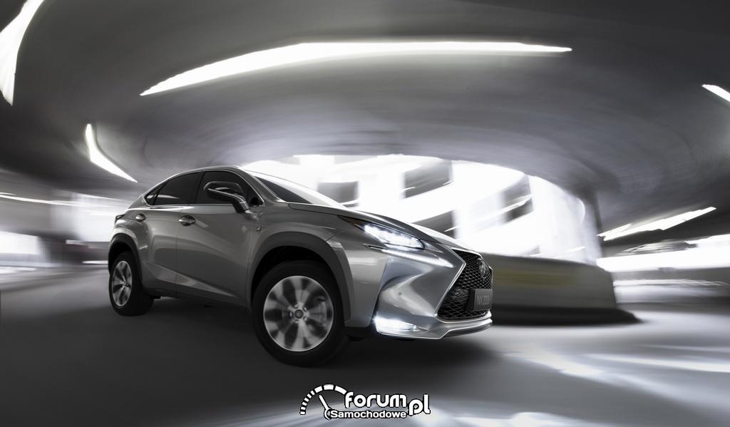 Lexus NX luksusowy kompaktowy SUV