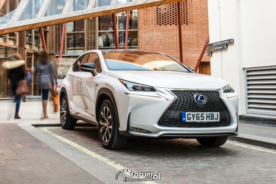 Lexus NX, parking