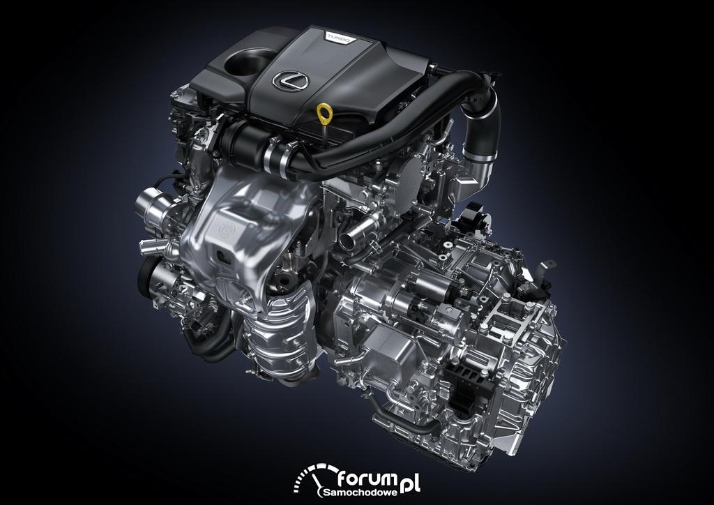 Lexus NX, silnik i skrzynia biegów