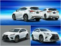 Lexus NX TRD vs Modellista