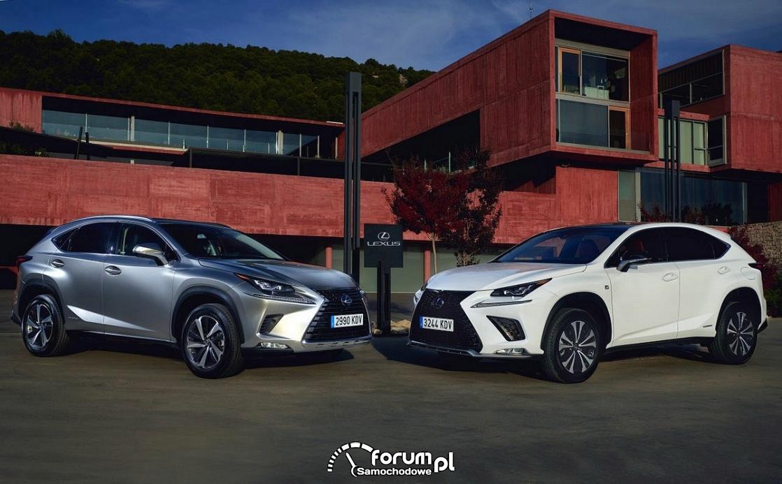 Lexus NX vs Lexus NX F Sport