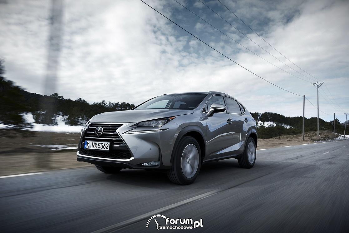 Systemy wspomagające bezpieczeństwo - Lexus NX200t