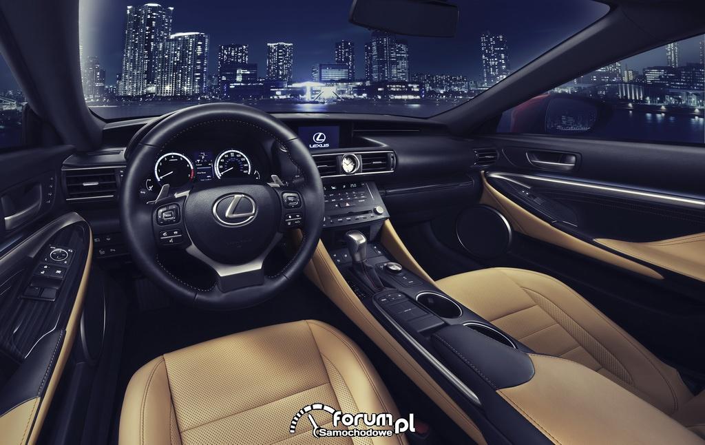 Lexus RC 350 i RC 300h - światowa premiera