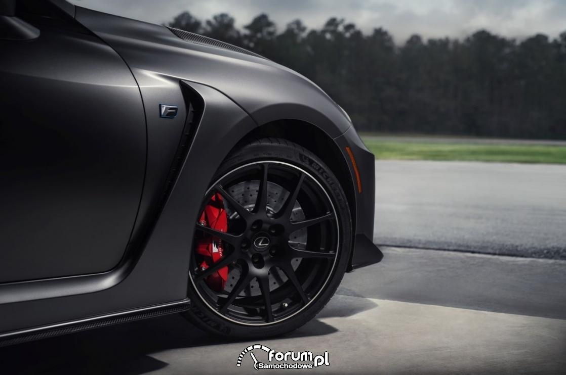 Lexus RC F Track Edition - z pierwiastkiem LFA i auta torowego