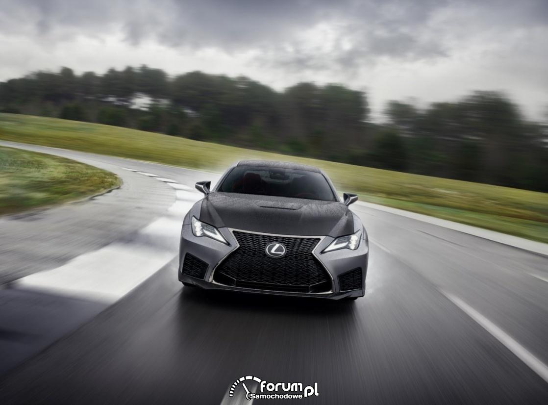 Lexus RC F Track Edition, przód