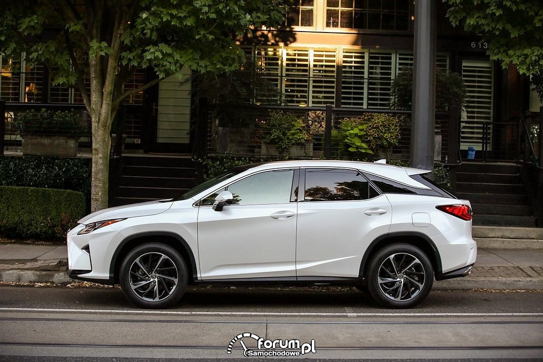 Lexus RX 200t, bok, 2016