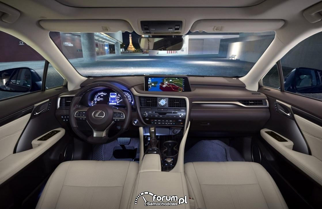 Lexus RX 450h, wnętrze