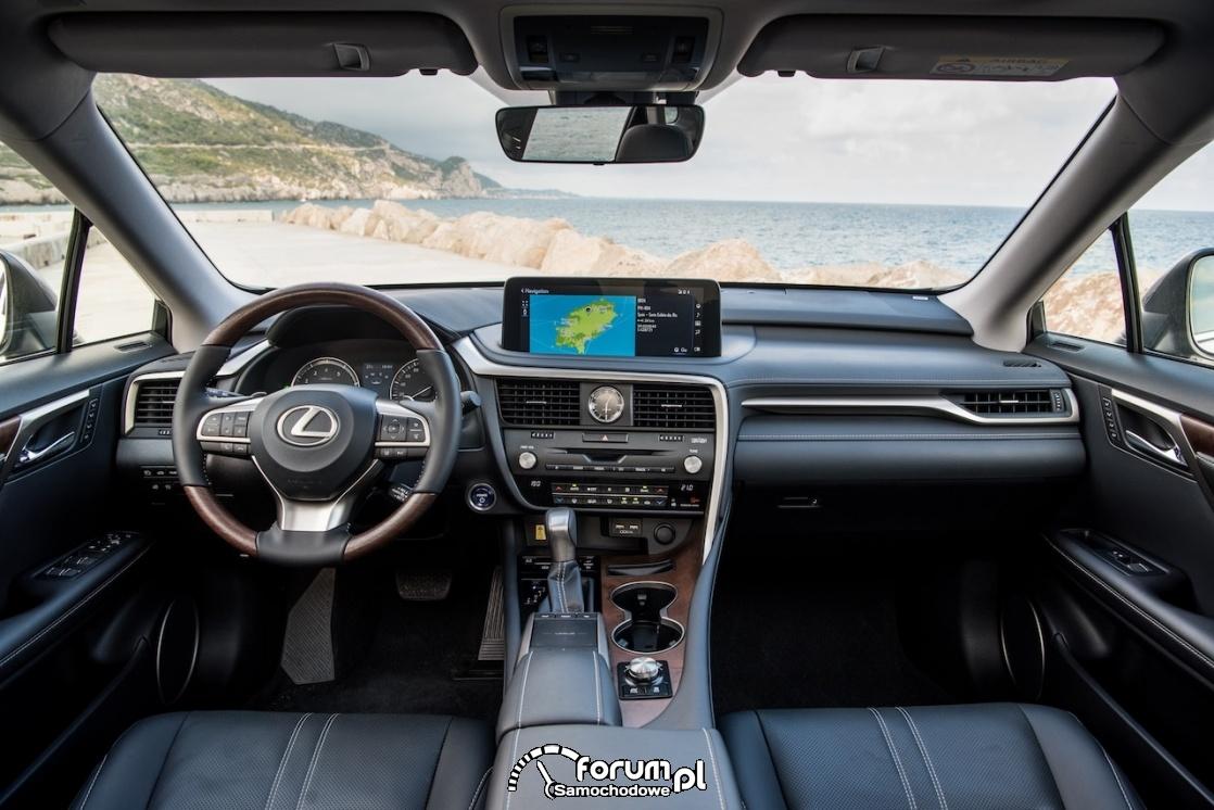 Lexus RX, wnętrze