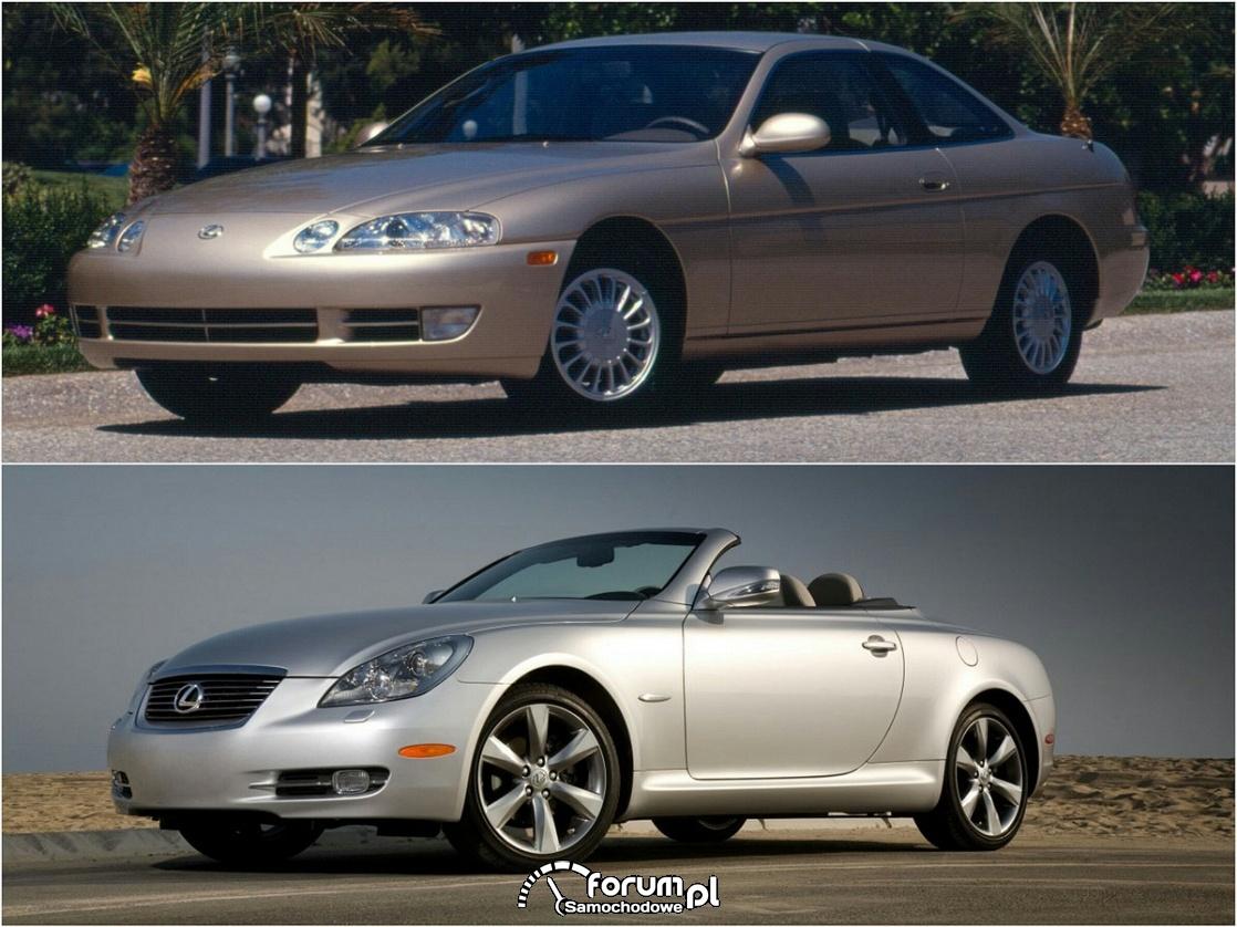 Lexus SC 300 vs Lexus SC 430