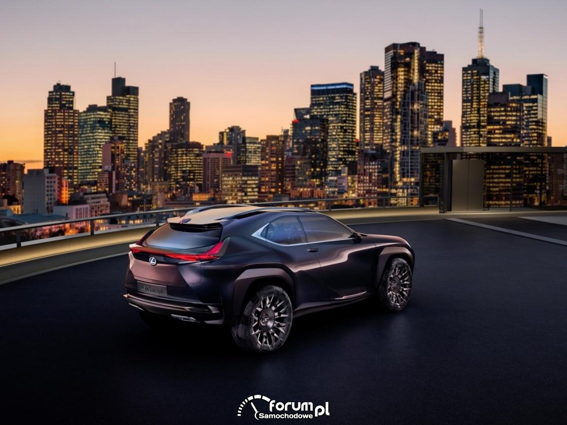 Lexus UX Concept, 2016, tył